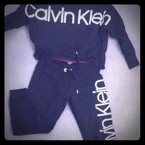 Calvin Klein Sweatsuit / jogger set
